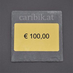 Gutschein im Wert von <br> € 100,00