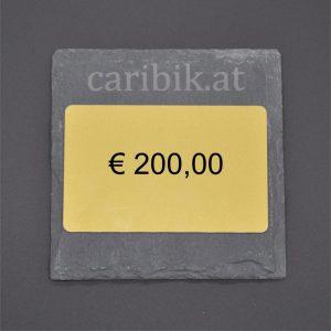 Gutschein im Wert von <br> € 200,00